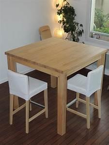 Table De Cuisine Haute : table de cuisine haute carr e cuisine id es de ~ Dailycaller-alerts.com Idées de Décoration