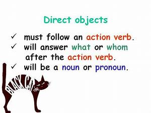 Direct Objects  U0026 Indirect Objects