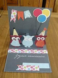 Fabriquer Carte Anniversaire : bricolage carte anniversaire ~ Melissatoandfro.com Idées de Décoration