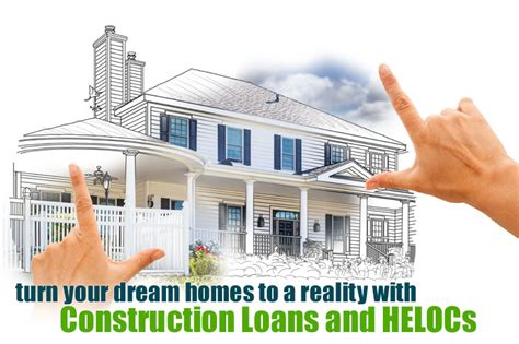 remodeling construction loans  heloc lines