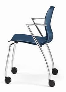Stuhl Mit Schreibplatte : stuhl mit metallgestell polymerh lle schreibplatte idfdesign ~ Frokenaadalensverden.com Haus und Dekorationen