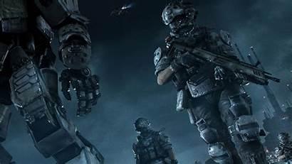 Sci Fi Enforcement Law Wallpapers Gun Military