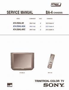 Sony Sony Kv 29al40 Chasis Ba 4 Pdf Diagramas De Televisores Lcd Y Plasma  U2013 Diagramasde Com