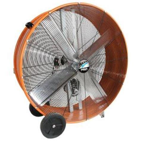 home depot drum fan maxxair 42 inch industrial heavy duty 2 speed belt drive