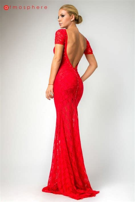 Beautiful and Romantic Red Long Dresses for Bridesmaids