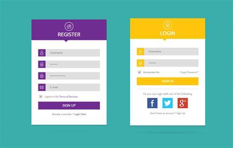 flat ui web forms widget template by w3layouts
