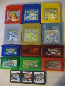 pokemon games