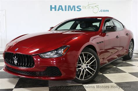 2014 Maserati Ghibli Q4 Price by 2014 Used Maserati Ghibli 4dr Sedan S Q4 At Haims Motors