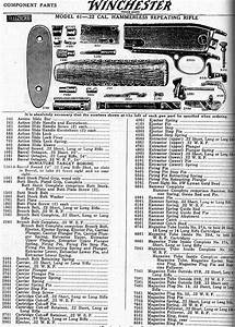 Winchester Parts Picture Model 61