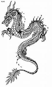 Simple Chinese Dragon Tattoo images | texture art ...