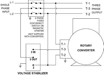 Phase Converter Wiring Diagram Fuse Box