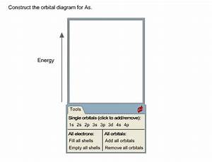 Solved  Construct The Orbital Diagram For As