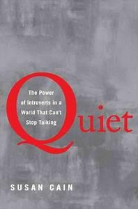 Quiet, Please: Unleashing 'The Power Of Introverts' : NPR  Quiet