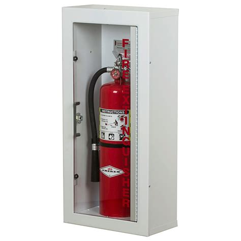 larsen gemini series surface mounted fire extinguisher cabinet