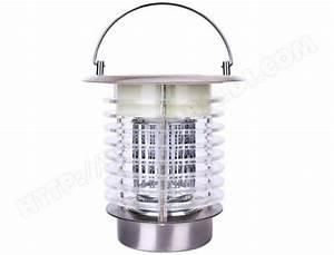 Lampe Anti Insecte : lampe bleue anti insecte volant led solaire rechargeable ~ Melissatoandfro.com Idées de Décoration