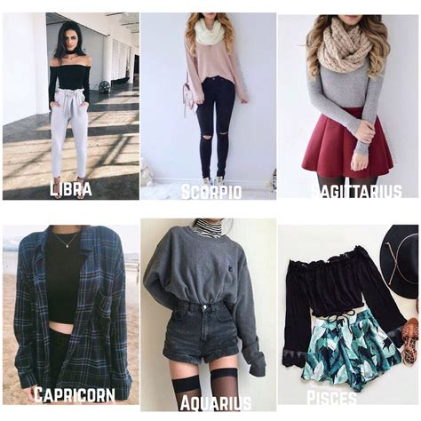 Signs as outfits male & female #horoscope #zodiacs # ...