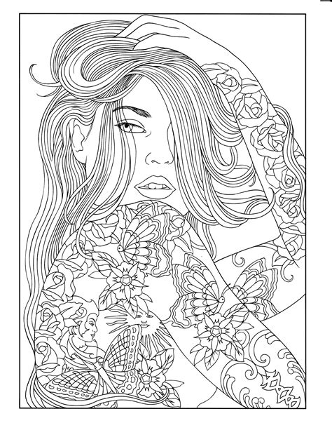 Black People Coloring Pages at GetColorings.com | Free