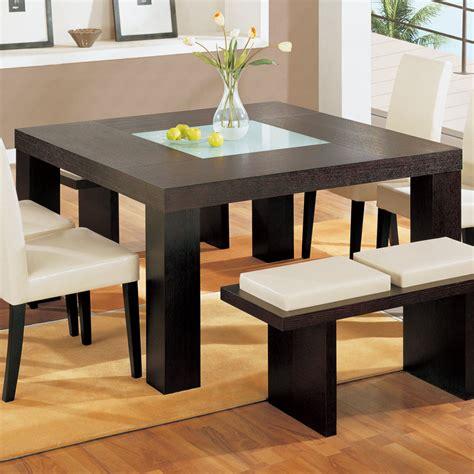 global usa lony square dining table  wenge walmartcom
