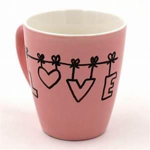 Tasse Selbst Bemalen : tassen bemalen kreative ideen und vorlagen f r das tassen selbst gestalten kreatives pinterest ~ Watch28wear.com Haus und Dekorationen