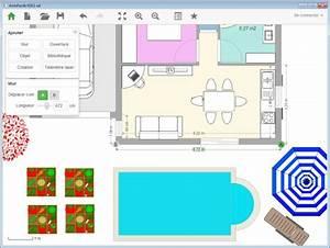 plan d39appartement gratuit logiciel archifacile With logiciel plan maison 3d 14 comment dessiner un salon