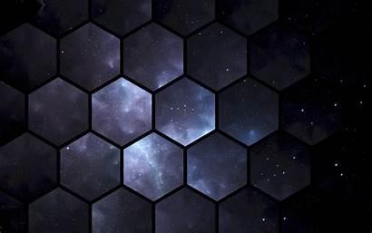 Patterns Space Hexagon Pattern Hexagons 4k Background