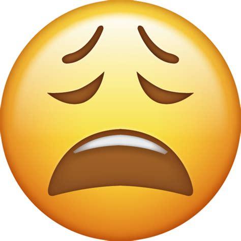 tired emoji   ios emojis emoji island