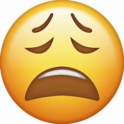 Emoji Tired Iphone Emojis Ios Icon Face