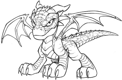 Baby Dragon Coloring Pages Democraciaejustica