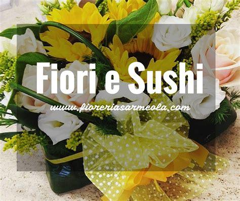 sushi di fiori fiori e sushi