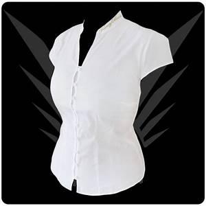 Weiße Bilderrahmen Günstig : wei e damen bluse mit mandarin stehkragen kleider g nstig online bestellen kaufen outfit tipps ~ Sanjose-hotels-ca.com Haus und Dekorationen