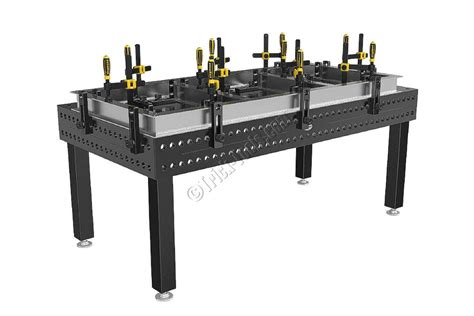 S2-280020-XD7, Strong Hand Siegmund Welding Table Jig Fixture