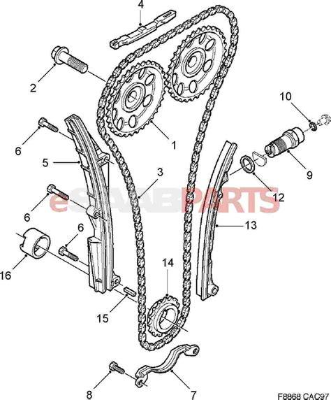 Timing Chain Diagram Serpentine Belt