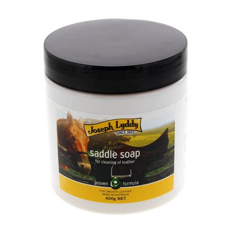 leather saddle soap cleaner horse lyddy joseph 400g equine ap