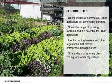 Planning And Zoning For Commercial Urban Agriculture