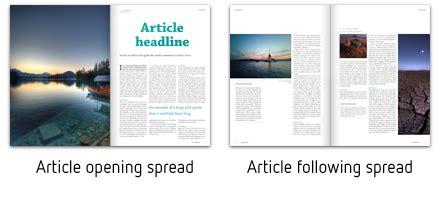 indesign magazine la grande indesign magazine template by ottonova graphicriver
