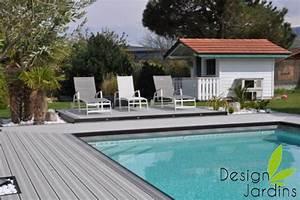 conseil amenagement piscine With amenagement tour de piscine 6 amenagement terrasse amenagement de cours plage de