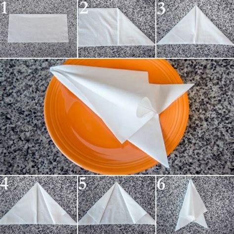 Servietten Falten Papier by Paper Napkin Folding Create Festive