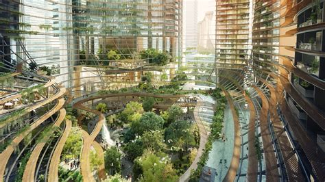 singapore marina  high rise garden architectural digest