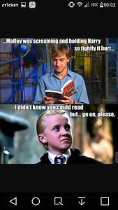 (in my opinion)... Drarry Memes