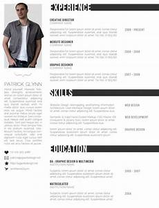 Free creative resume templates designinstance for Creative cv templates free