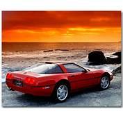 C4 Corvette ZR1 Art Poster ChevyMall