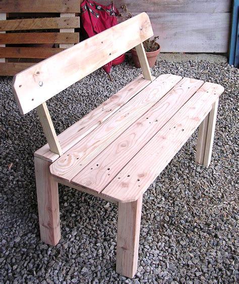 banc de cuisine en bois avec dossier fabriquer un banc en bois avec dossier mzaol com