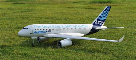 Airbus A320 Remote Control Aircraft Twin 70mm Ducted Fan