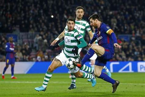 Champions League: Lionel Messi rests for first hour as ...