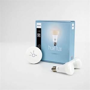 Philips Hue Starterset : philips hue lux starterset 2 lampen met bridge ~ Watch28wear.com Haus und Dekorationen