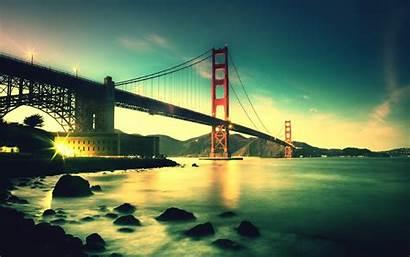 Golden 5k Bridge Gate Wallpapers 1800 2880