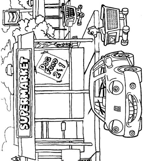 Gat Kleurplaat by N 38 Coloring Pages Of Cars