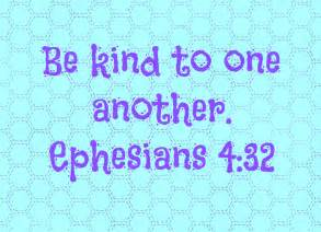 Be Kind One Another