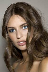 Light Chocolate Brown Hair Color - http://www.haircolorer ...