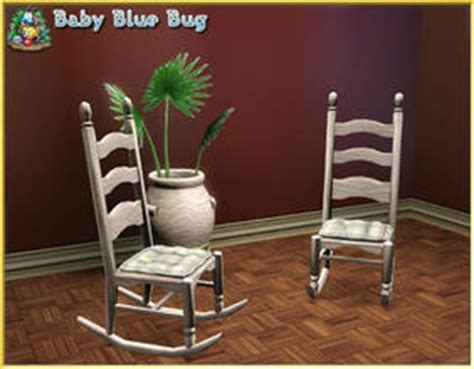 sims  downloads rocking chair